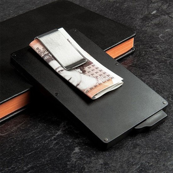 RFID Metal Wallet - Just £7!