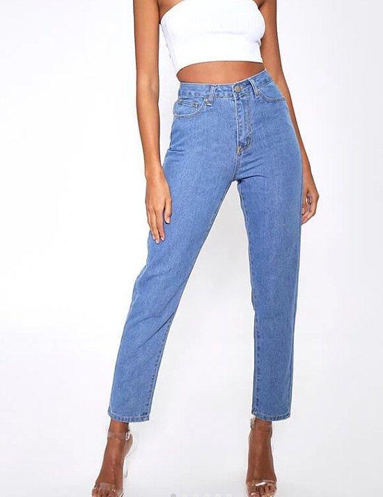 75% off everything - Light Wash Basic Highwaisted Mom Jeans