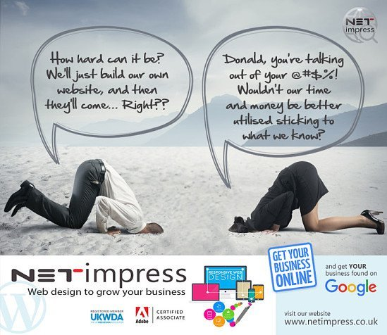 Save 20% off new website builds with Netimpress