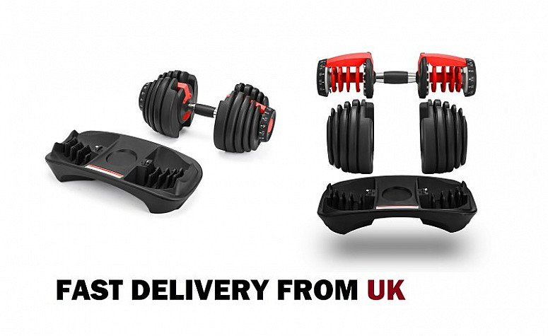 Brand new Adjustable 1 x Dumbbell Now just £85.99  (RRP £160)