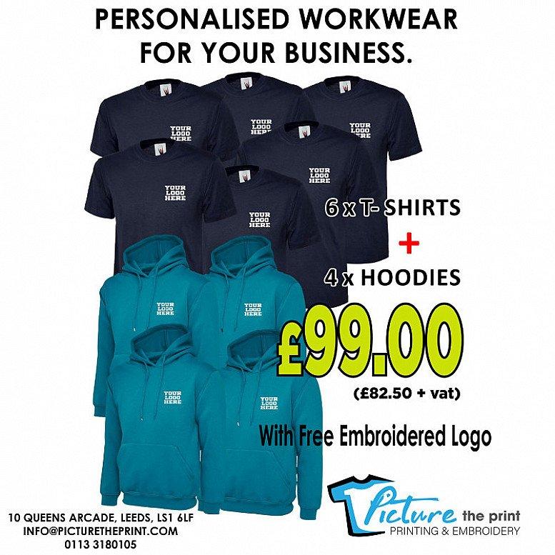 Fantastic personalised workwear.
