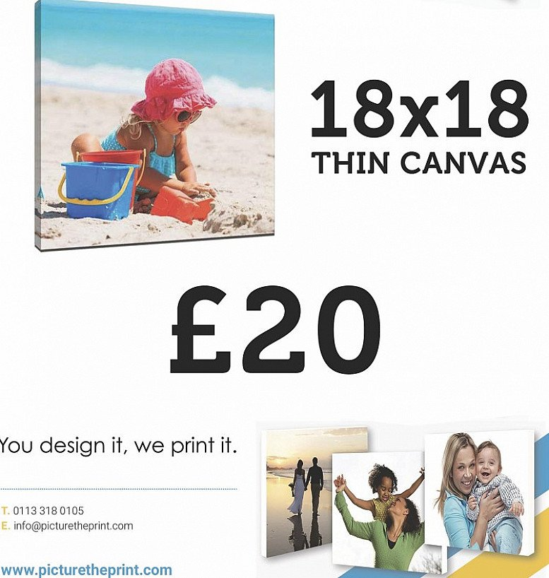 """18x18"""" Now only £20"""