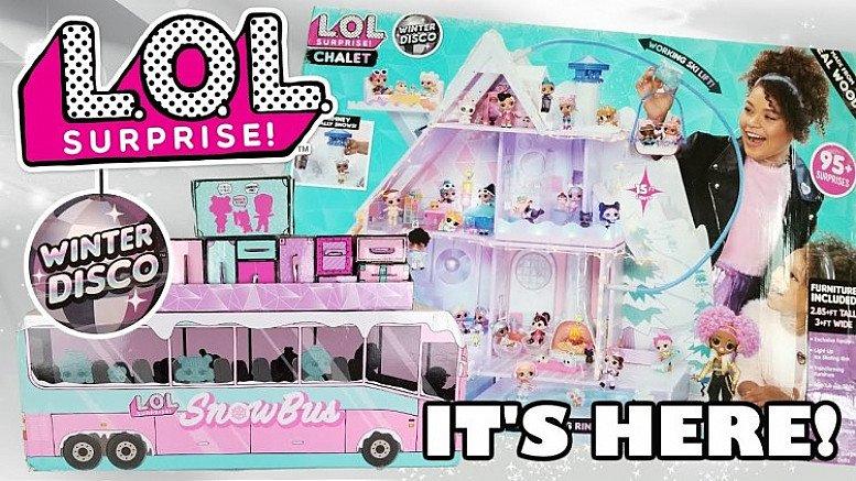 L.O.L Suprise Winter Disco Product Launch!