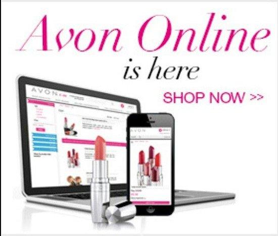 Enjoy Avon online