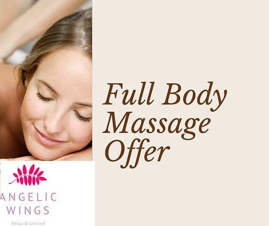 Save 40% off a Full body massage