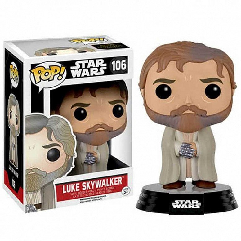 Pop! Vinyl: Star Wars The Force Awakens - Luke Skywalker (Vaulted) RRP £16.99, Now Only £9.99!