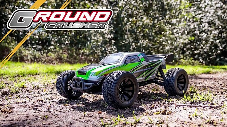RC Ground Crusher Truggy Green RRP £150, Now Only £74.99!