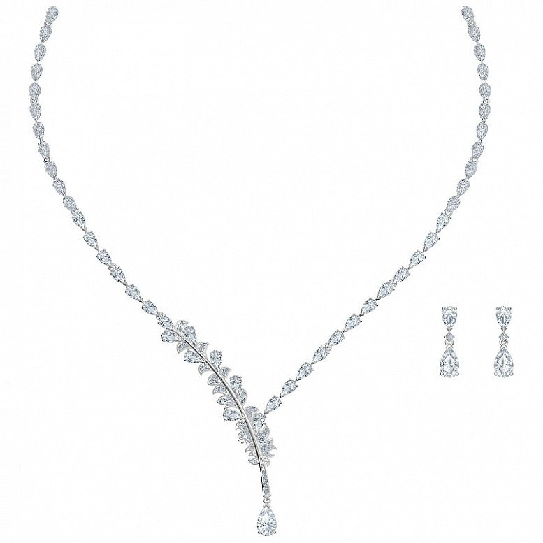 SWAROVSKI Nice Necklace + Earrings Set now for £209.00!