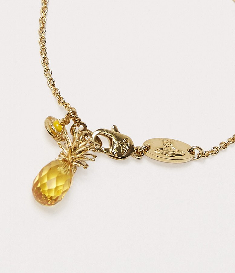 SALE on Vivienne Westwood Gold Pineapple Necklace!