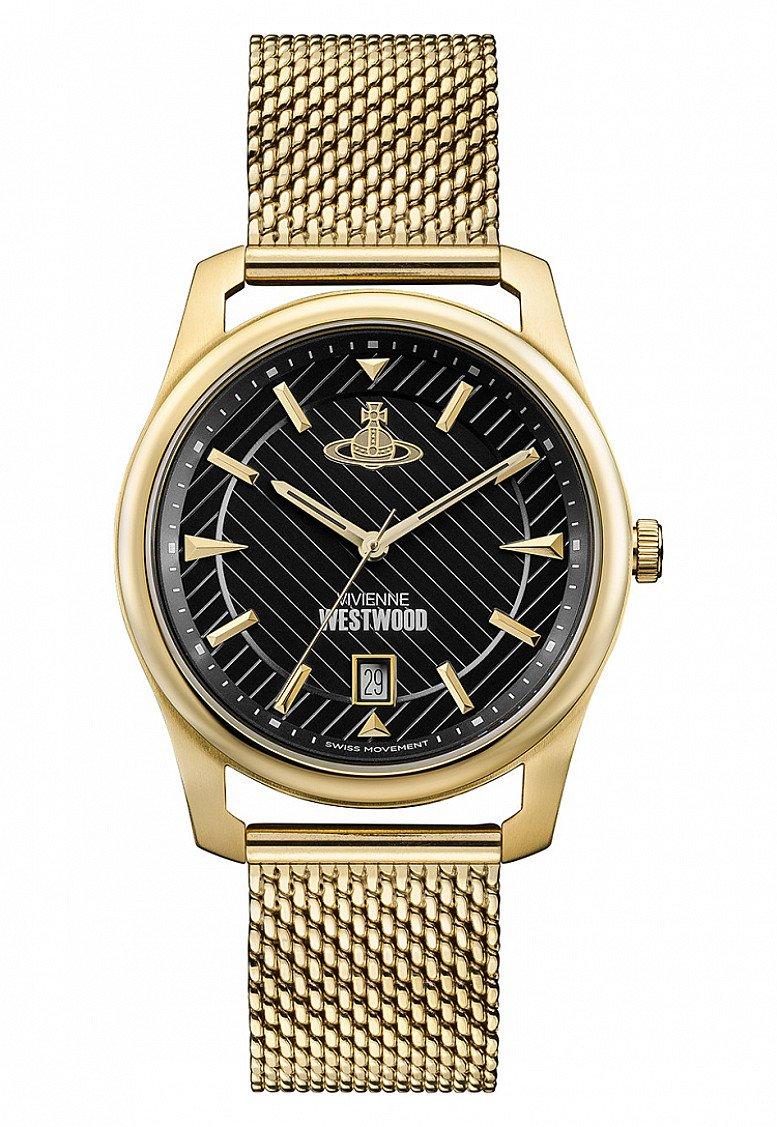 SALE on Vivienne Westwood Gold & Black Holborn Watch!