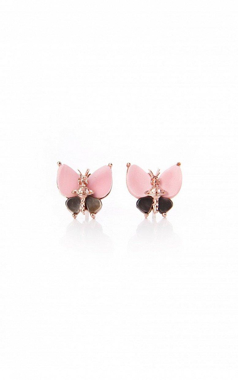 SALE on Vivienne Westwood Pink Butterfly Earrings!