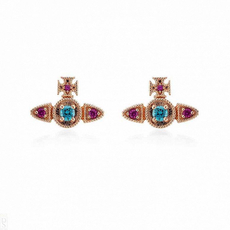 SALE on Vivienne Westwood Mairi Rose Gold Earrings!