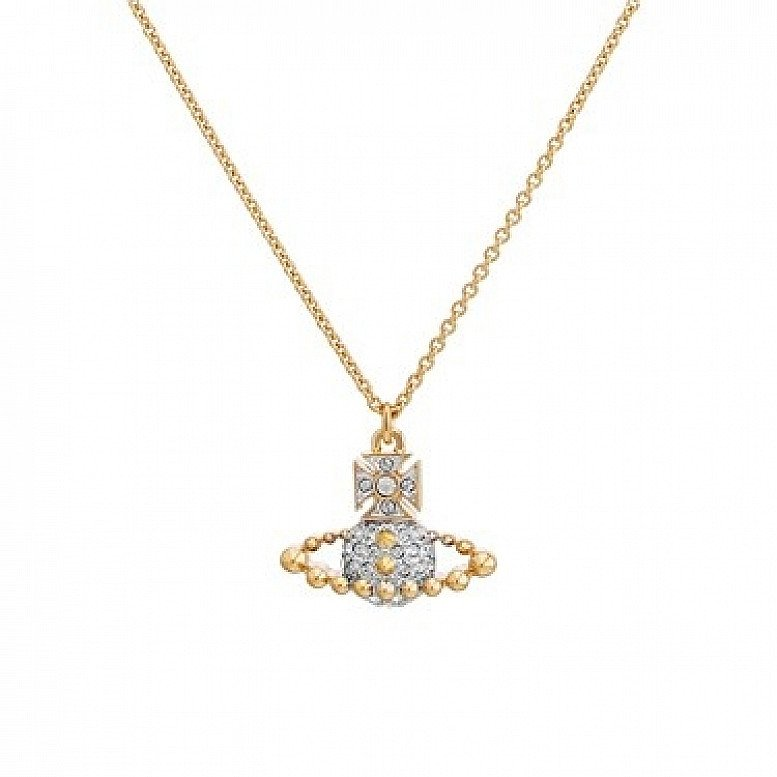 SALE on Vivienne Westwood Lena Gold Small Bas Relief Necklace!