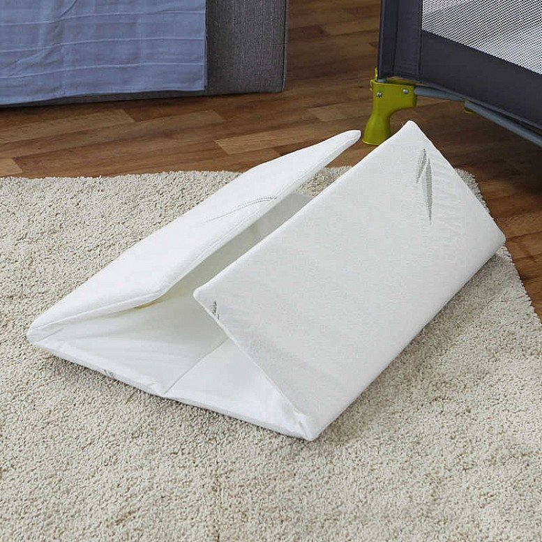 Huge Savings on Eucalyss Folding Travel Cot Mattress RRP £28, Now Only £9.03!
