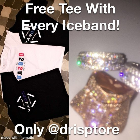FreeTee with every iceband ring
