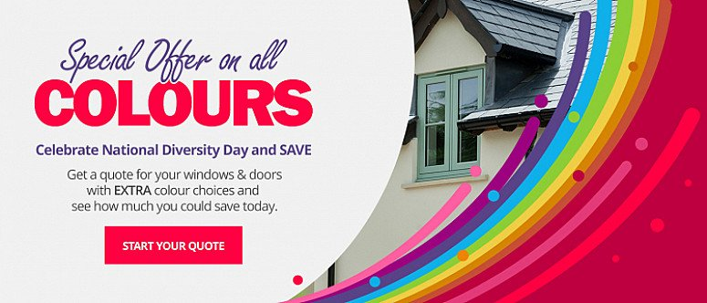Last chance to take advantage of our SALE on all coloured windows & doors
