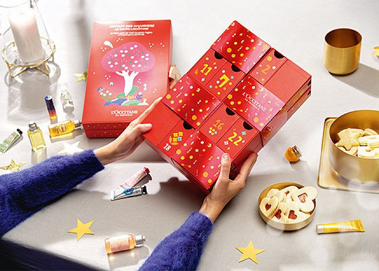 Take a trip of the senses through Provence with L'Occitane's 2019 Christmas Advent Calendar!
