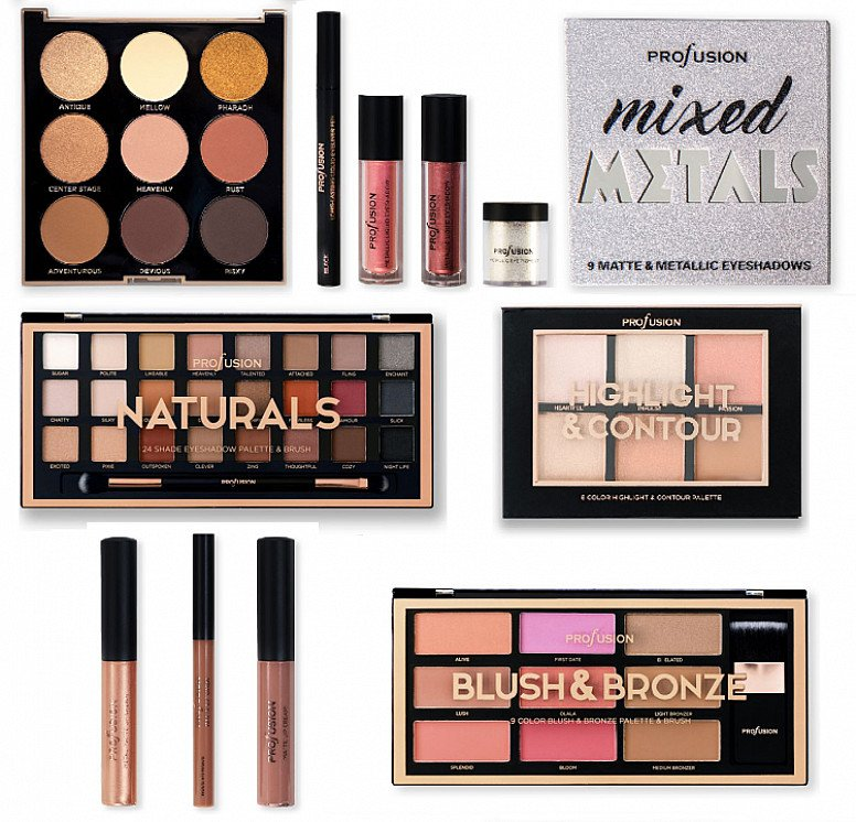 Get a free Profusion Cosmetics makeup palette when you spend £45 on the allbeauty site!
