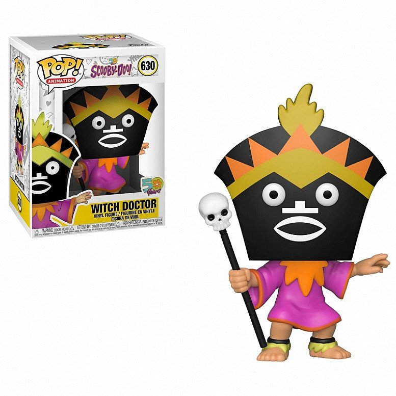 Pop! Vinyl : Scooby Doo - Witch Doctor - Only £14.99!