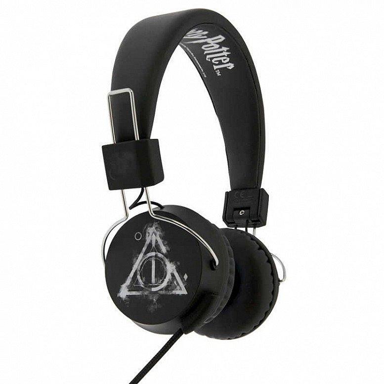 Harry Potter Smoky Deathly Hallows Tween Headphones - Only £20!
