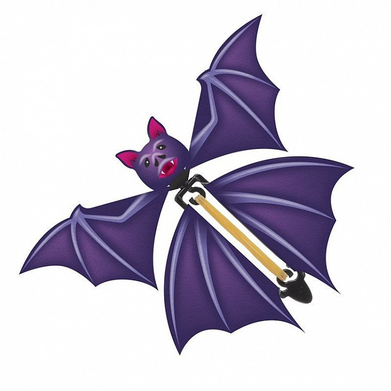 Flapping Bat - Release this Flapping Bat and watch it flutter around the room - Only £1.50!