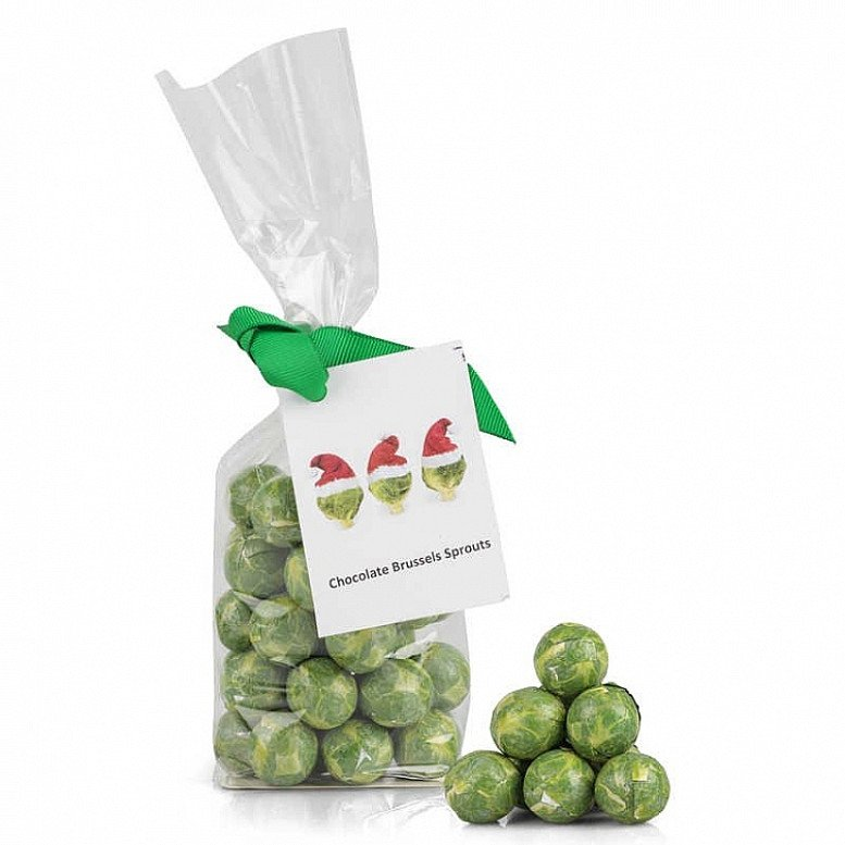 Bag of Sprouts - Tear open this Bag of sprouts and discover the chocolate delights - only £4.00