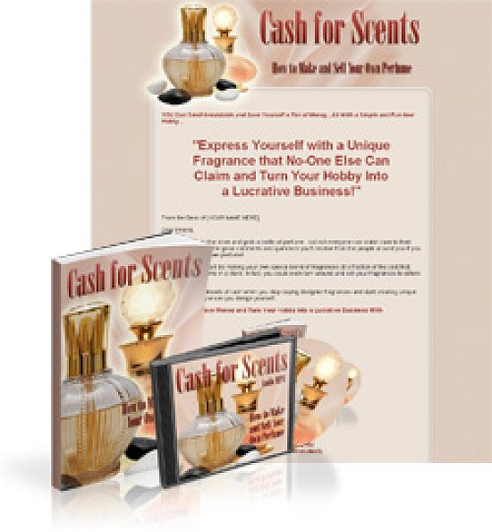 Cash for Scents- This is an e-Book