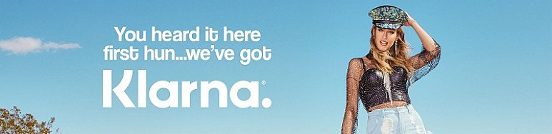 Shop now, pay later with Klarna!