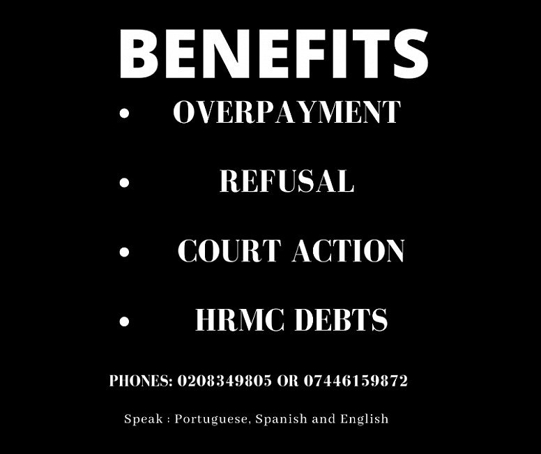 WELFARE BENEFITS AND TAX CREDIT OVERPAYMENTS