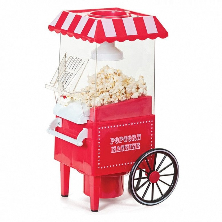 SAVE £10.00 on a Popcorn Machine - Bring the cinema sensation of popcorn to your home!