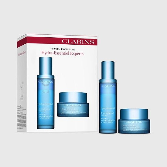 CYBER WEEK SALES - Clarins Hydra-Essentiel Experts Set WITH EXTRA 25% OFF