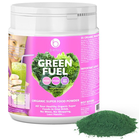 Save Up to 60% on our Organic Super Food Powder