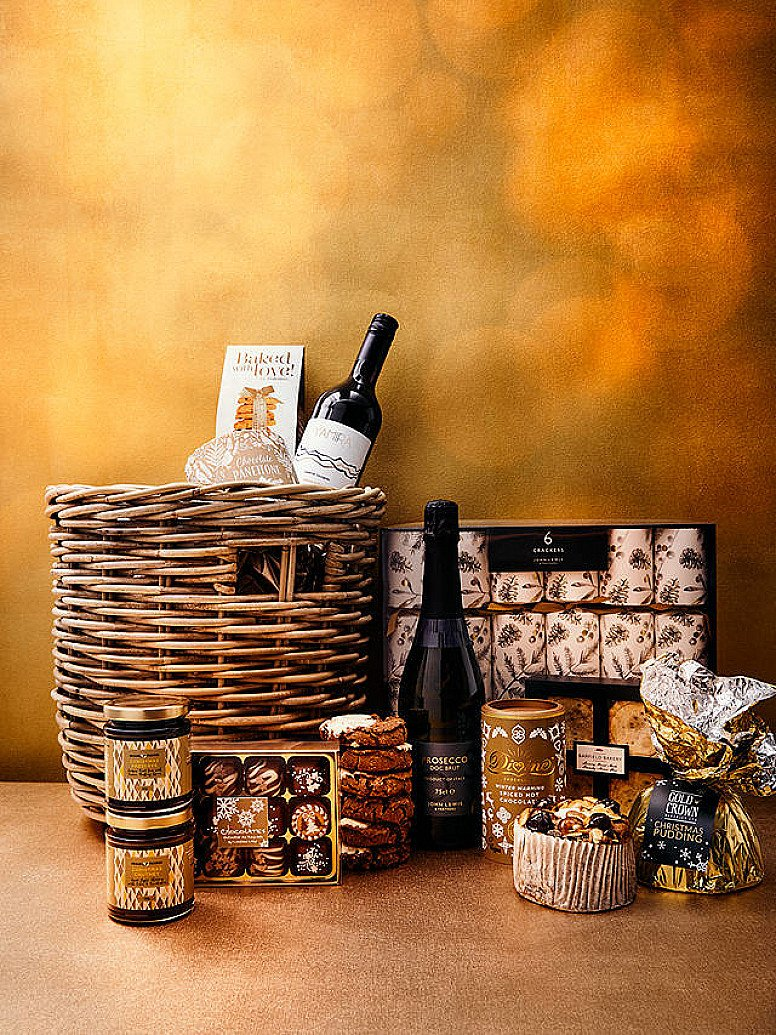 Check out our 'Gifts to Treasure' section online -  Inc. the Spirit of Christmas Hamper £100!