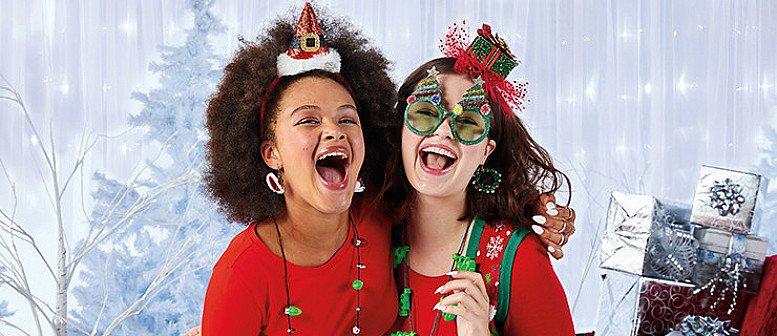 "60% Off Xmas Styles -  including the 1"" Santa Hat Drop Earrings £2.25!"
