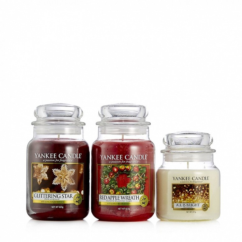 Up to 50% off Festive Yankee Candles!