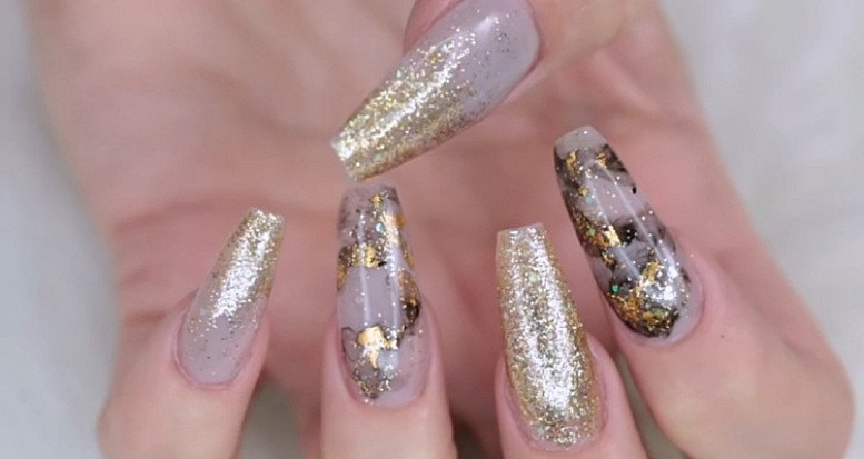Ultimate 24 carat nail extensions