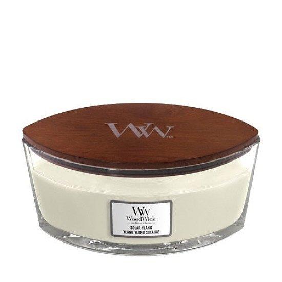 SAVE 15% - WOODWICK SOLAR YLANG HEARTHWICK JAR CANDLE