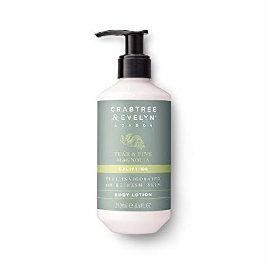 SAVE 50% - CRABTREE & EVELYN PEAR AND PINK MAGNOLIA BODY LOTION 250ML
