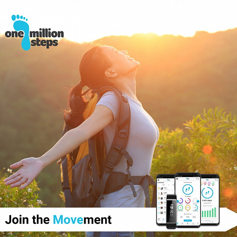 Last Three Hours! Million Steps Challenge 2020 Launch Price £19.99 (RRP £35.00) Only 500 Places Left