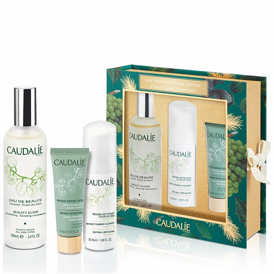 Save up to 50% in the lookfantastic Winter Sale - Caudalie Beauty Glow Essentials
