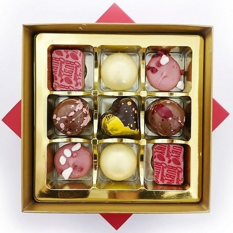 Introducing The 'Amore' Selection Box created especially for you to share with that special someone