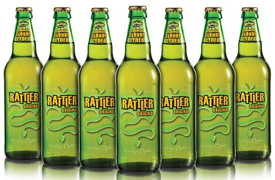 RATTLER ORIGINAL CYDER  12 x500ml - £24.96!