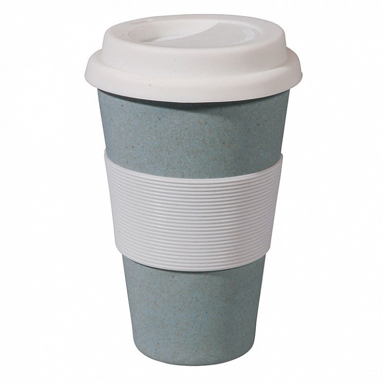 Our Bamboo Travel Mugs are just £9.95 and available in a range of different colours!