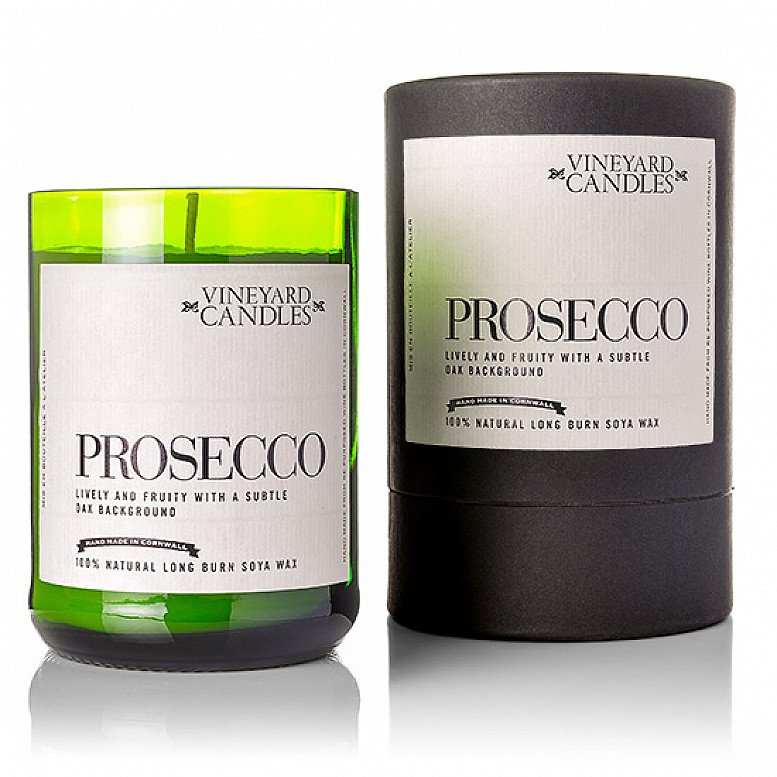 SALE - Prosecco Candle, a perfect gift for Valentine's Day!
