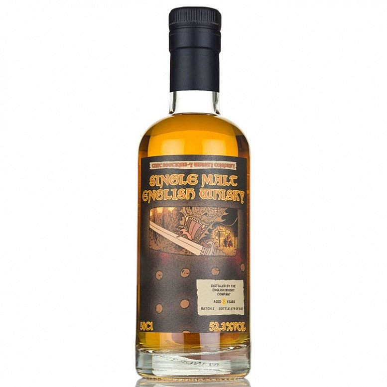 SALE - English Whisky Co. 8 Year Old Batch 2 52.3%!