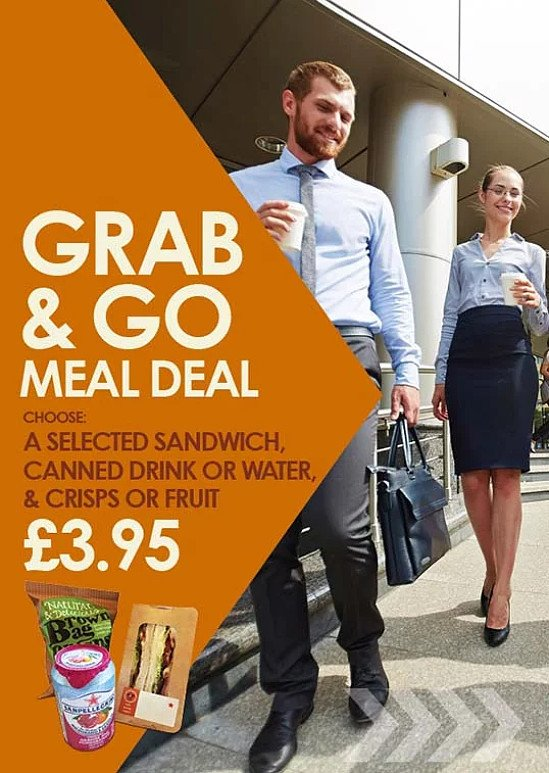 Get the Grab & Go Meal Deal for just £3.95!