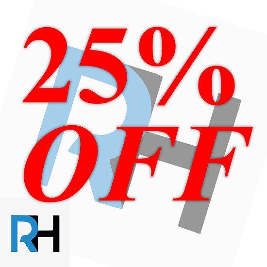 25% Off All Web Hosting Plans