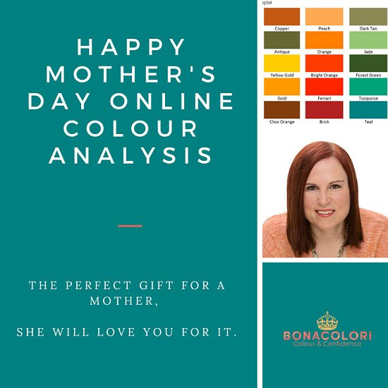 50% off online colour analysis
