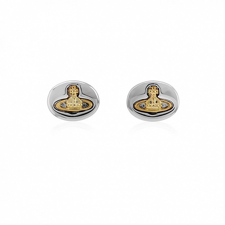 Up to 60% Off on Vivienne Westwood Jewellery - Embossed Logo Studs!