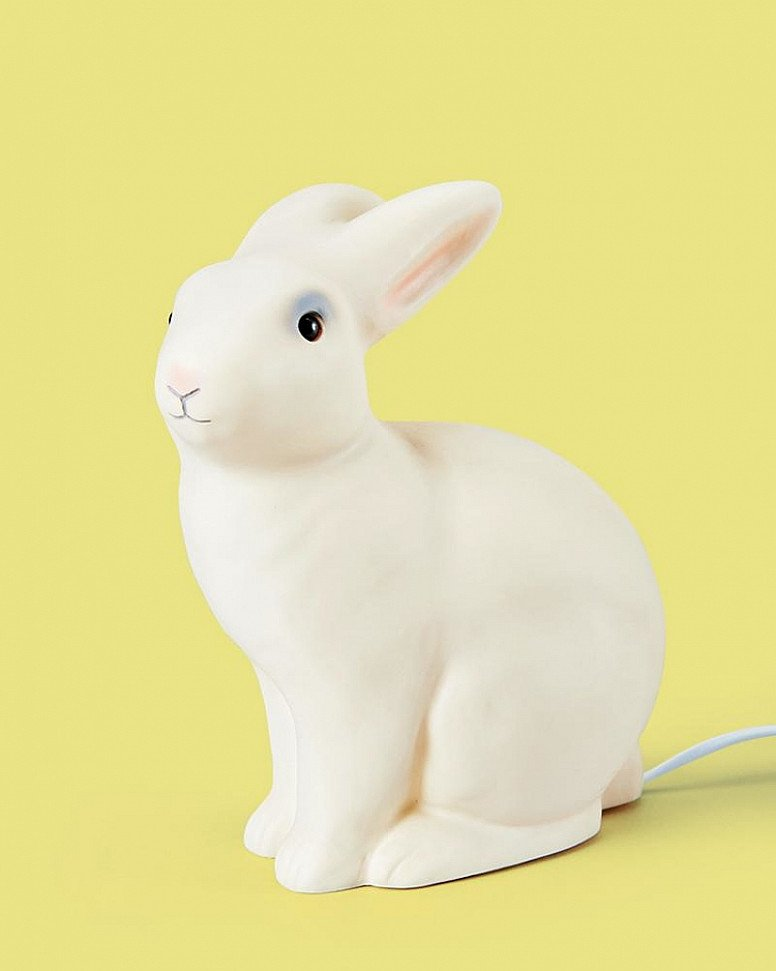 Valentine's Day Gift Idea - Rabbit Lamp